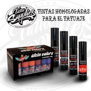 TINTAS HOMOLOGADAS PARA EL TATUAJE