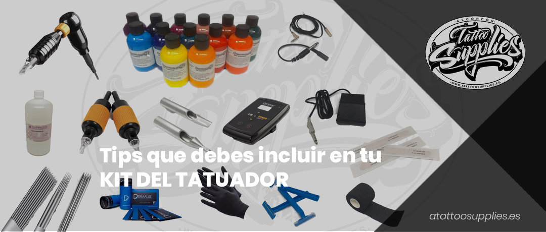 Tips que debes incluir en tu kit de tatuador