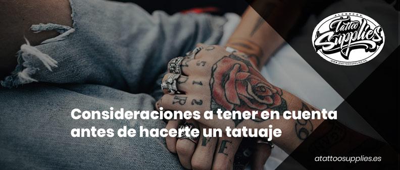 6 cosas que debes tener en cuenta antes de hacerte un tatuaje
