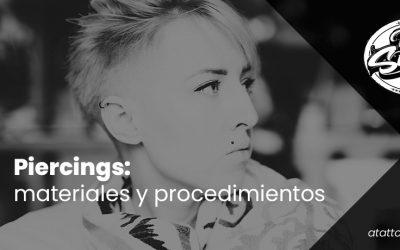 Piercings: materiales y procedimientos