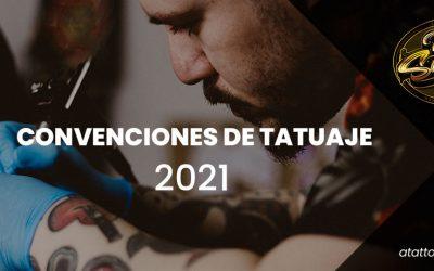 Convenciones nacionales de tatuaje 2021